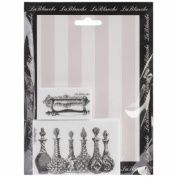 Lablanche Silicone Stamps 2/Pkg-Glass Decanters