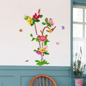 HEMU-HL-1267 - Full-Colour Tree - Wall Decals Stickers Appliques Home Decor