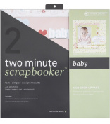 Two Minute Scrapbooker 30cm x 12 Inch Page Kit - Baby