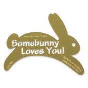 Heritage Handcrafts Stencil - Some Bunny Loves You
