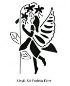 Heritage Handcrafts Stencil - Fuchsia Fairy