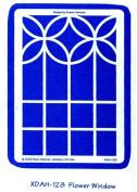 Heritage Handcrafts Stencil - Flower Window
