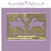Heritage Handcrafts Stencil - Bunny Love