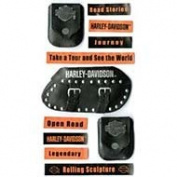 Harley Davidson 3-D Stickers