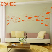 7 Colours DIY Fish Decal Decor Removable Vinyl Sticker Wall Art Decal