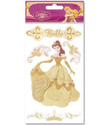 Disney Enchanted Tales Dimensional Gold Stickers-Belle