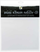 Diecuts with A View Match Maker Postbound Page Protectors, 20cm by 20cm , 10/Pkg, Clear