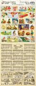 Crafty Secrets Heartwarming Vintage Creative Scraps Seasonal Calendar