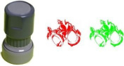 Funstamper Holiday Stamp - red or green