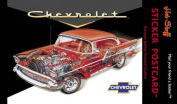 Hot Stuff Enterprise SP1090 - 4x6 57 Chevy Sticker