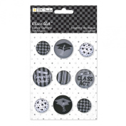 The Paper Company, 2010157, Class Act Fabric Buttons