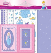 Sandylion PDCLSCBTP1 Scrapbook Themepack with Stickers, Paper, and Frame Kit, Cinderella