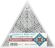 Quilter's Rule Mini Equilateral 18cm - 1.9cm Triangle Quilter's Ruler