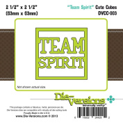 Die-Versions Cute Cube Die-Team Spirit