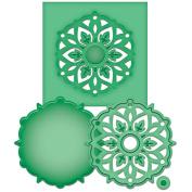 Spellbinders Shapeabilities Die D-Lites-Medallion 8