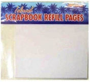 Hawaiian Scrapbook Album Refill Pages 20cm by 20cm