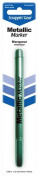 Scrappin-Gear Permanent Metallic Marker, Green, 1.2mm