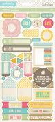 GCD Studios Pure Bliss by Heather Tozzi Cardstock Label Stickers