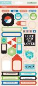 GCD Studios Special Delivery by Heidi Sonboul Cardstock Label Stickers