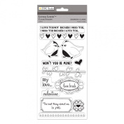 The Paper Company, 2009985, Little Lovin' Clear Stamps