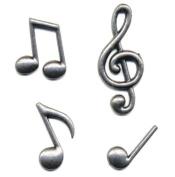 Momenta Small Metal Musical Notes