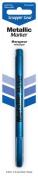 Scrappin-Gear Permanent Metallic Marker, Blue Steel, 1.2mm