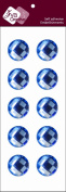 Zva Creative CRW-05CA-174 Crystal Sticker, Ice Blue Individuals