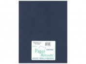 Paper Accents Cardstock 8.5x11 Smooth Navy Blue- 65lb 25 Pack