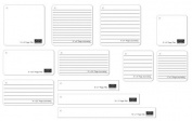 Karen Foster Design Map-A-Page Template Title & Journaling Pack