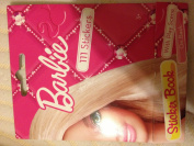 BARBIE STICKER BOOK WITH PLAY SCENE 111 STICKERS