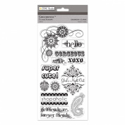 The Paper Company, 2010062, Girlfriends Clear Stamps