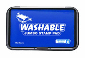 Educational Insights Jumbo Washable Stamp Pad Blue