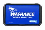 Educational Insights Jumbo Washable Stamp Pad Blue