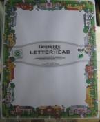 Geographics Design Paper, Neighbourhood, 24 lb, 22cm x 28cm , 100 Sheets Per Pack