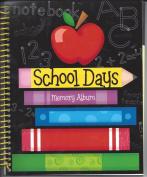 SCHOOL MEMORIES KEEPSAKE - Spiral Bound - Pre-K to 6th Grade