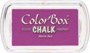 ColorBox Chalk Mini Ink Pad, Warm Red