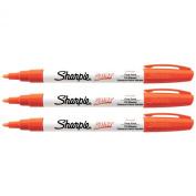 Sharpie Oil-Based Paint Marker, Fine Point, Pack of 3