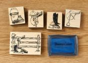 English Stamp Set
