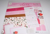 Inspirational Love 30cm x 30cm Scrapbook Kit