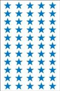 Ace Label 6010AL Teacher Star School Stickers, 1.3cm , Blue, 8 Sheets