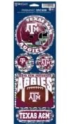 NCAA Texas A & M Aggies Prismatic Vinyl Die-Cut Sticker Sheet