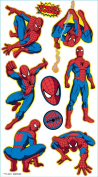 Marvel Comics Puffy Stickers, Spider-man