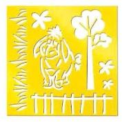 Disney Brass Stencil Template, Eeyore, 46621, Winnie The Pooh