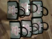 (6) Generations Sassy Scrapper Scrapbook Sticker/embellishment organiser
