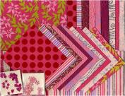 Shizen Handmade Decorative Paper Assortment- Red/Pink/Magenta