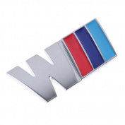 1pc M Car Metal Badge Logo Emblem Sticker Fit for BMW All Car Auto Rear Bumper