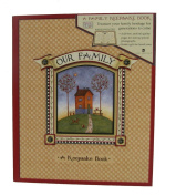 Our Family Book Of Memories Keepsake Book