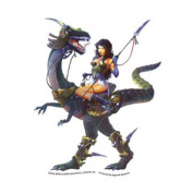 Dragon Girl Decorative Sticker Decal By MEIKLEJOHN GRAPHICS