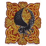 Celtic Fire Black Pegasus Decorative Sticker Decal By Delight's Fantasy Art
