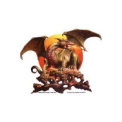 Dragon Sun Decorative Sticker Decal By Boris Vallejo & Julie Bell